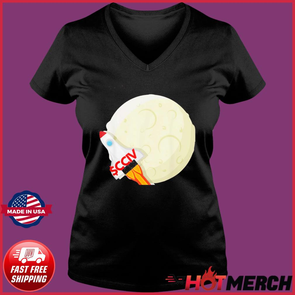 CCIV To The Moon Lucid T-Shirt Ladies V-neck Tee