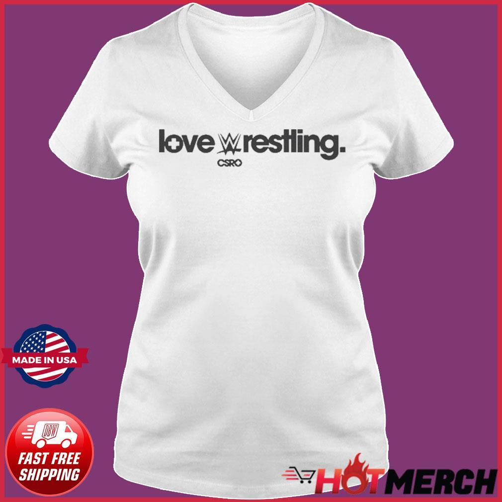 Cesaro Love Wrestling Csro Shirt Ladies V-neck Tee