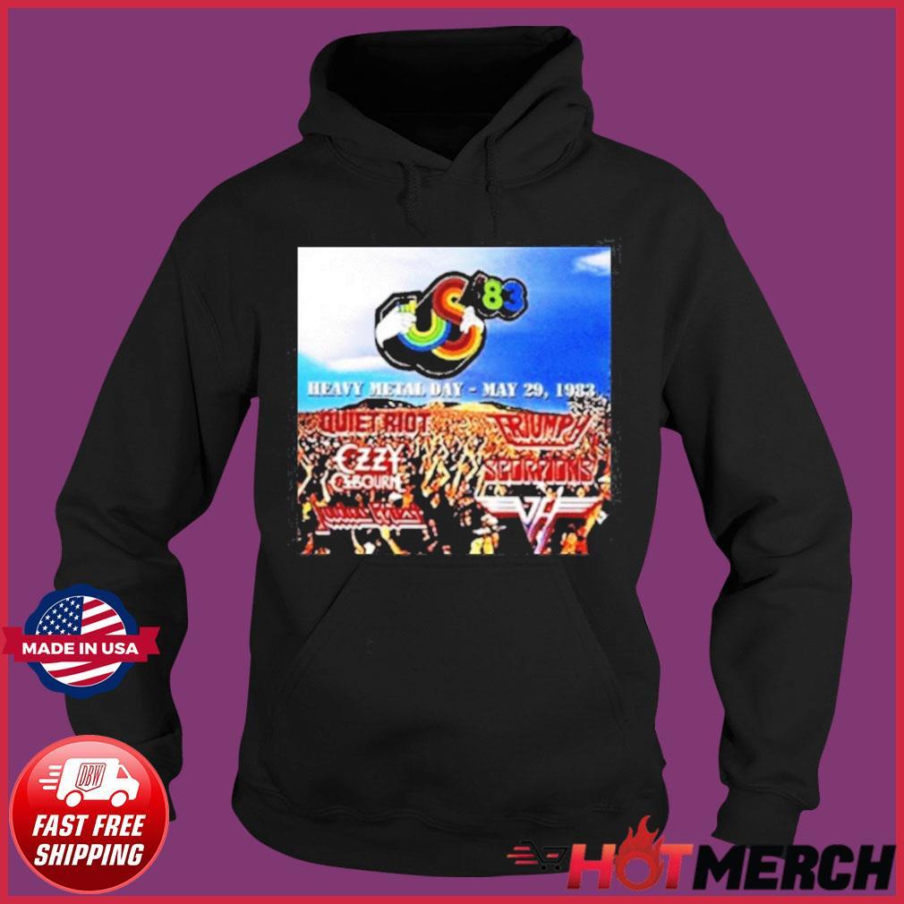 Heavy Metal Day – May 29 Festival 1983 Shirt Hoodie