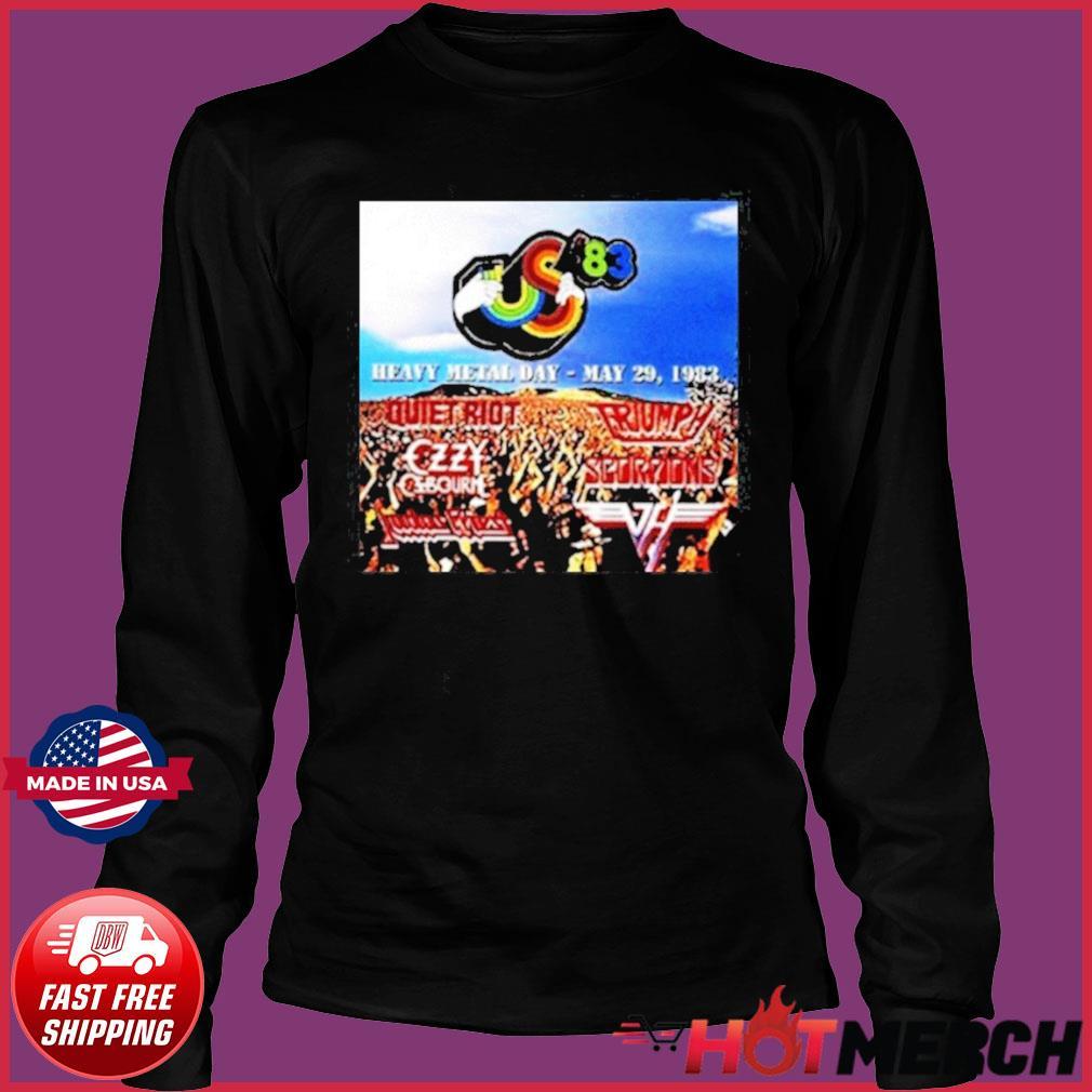 Heavy Metal Day – May 29 Festival 1983 Shirt Long Sleeve