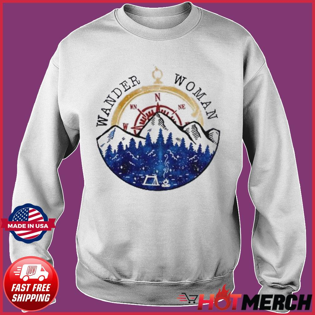 Oficial Wander Woman Hiking Camping Lover Shirt Sweater