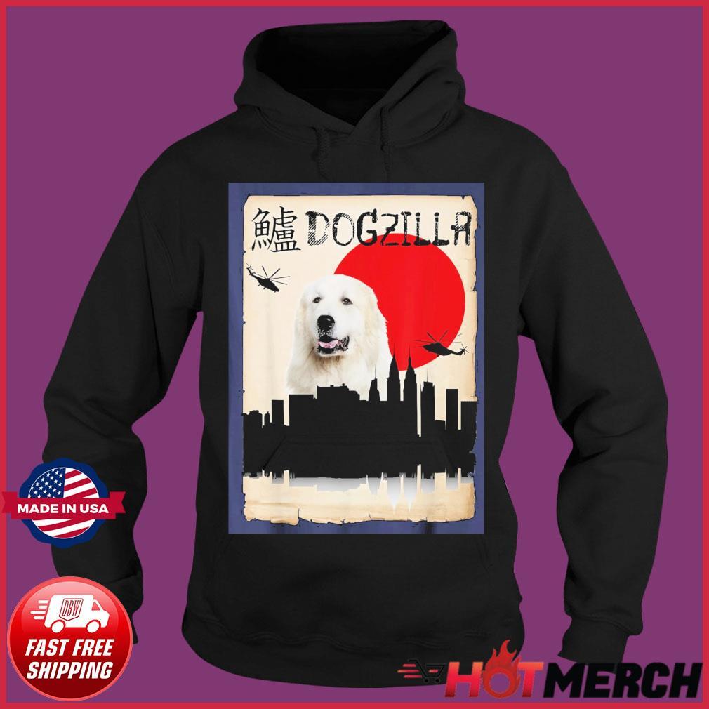 Pyrenees Dog Dogzilla Shirt Hoodie