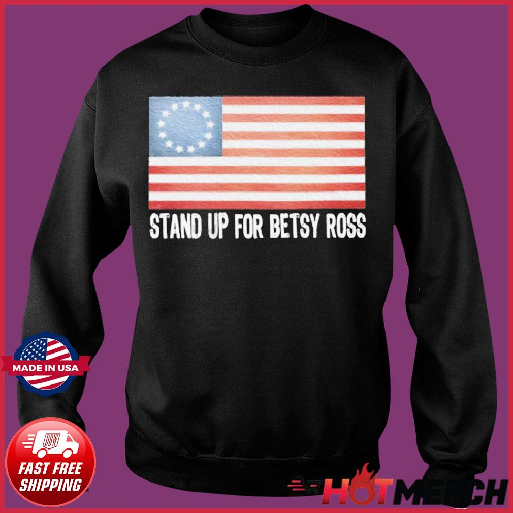 Rush Limbaugh American Flag Stand Up For Betsy Ross Shirt Sweater