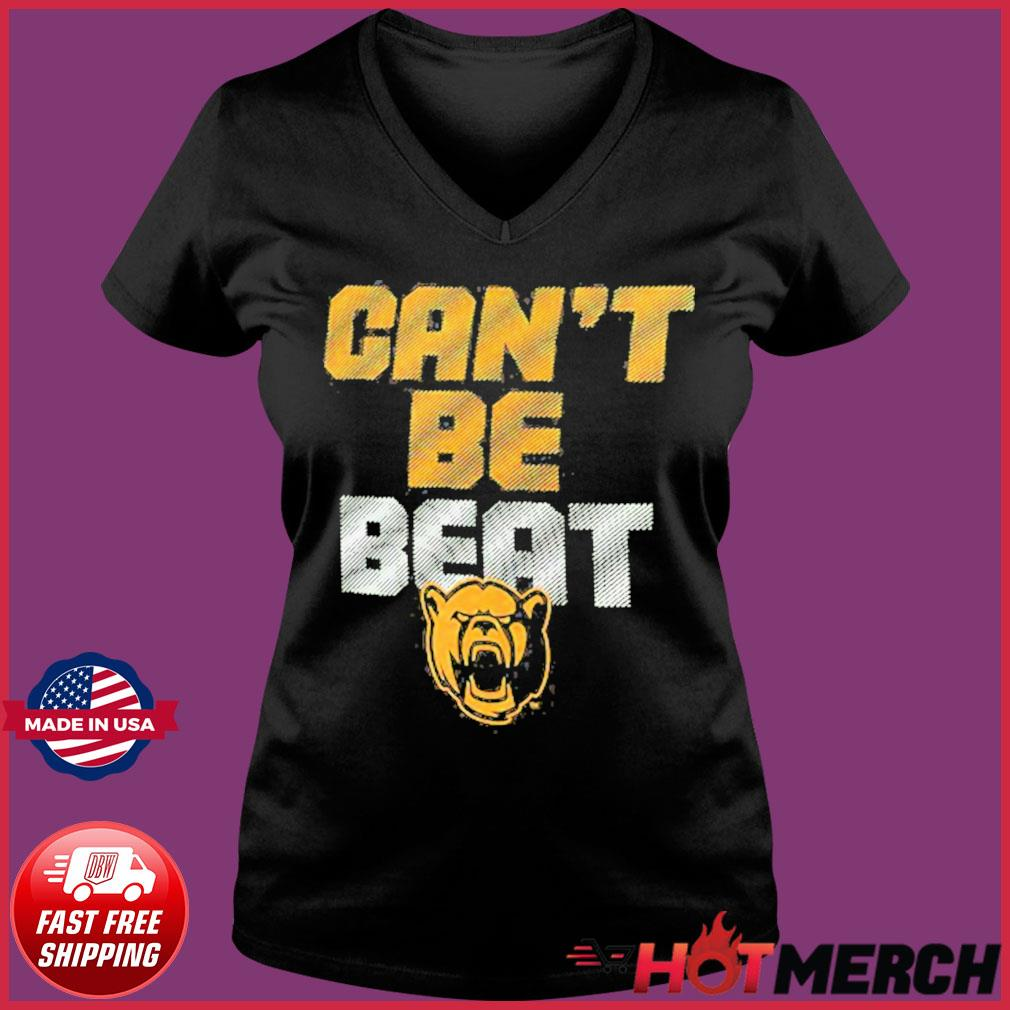 Baylor Bears Can't Be Beat Shirt Ladies V-neck Tee