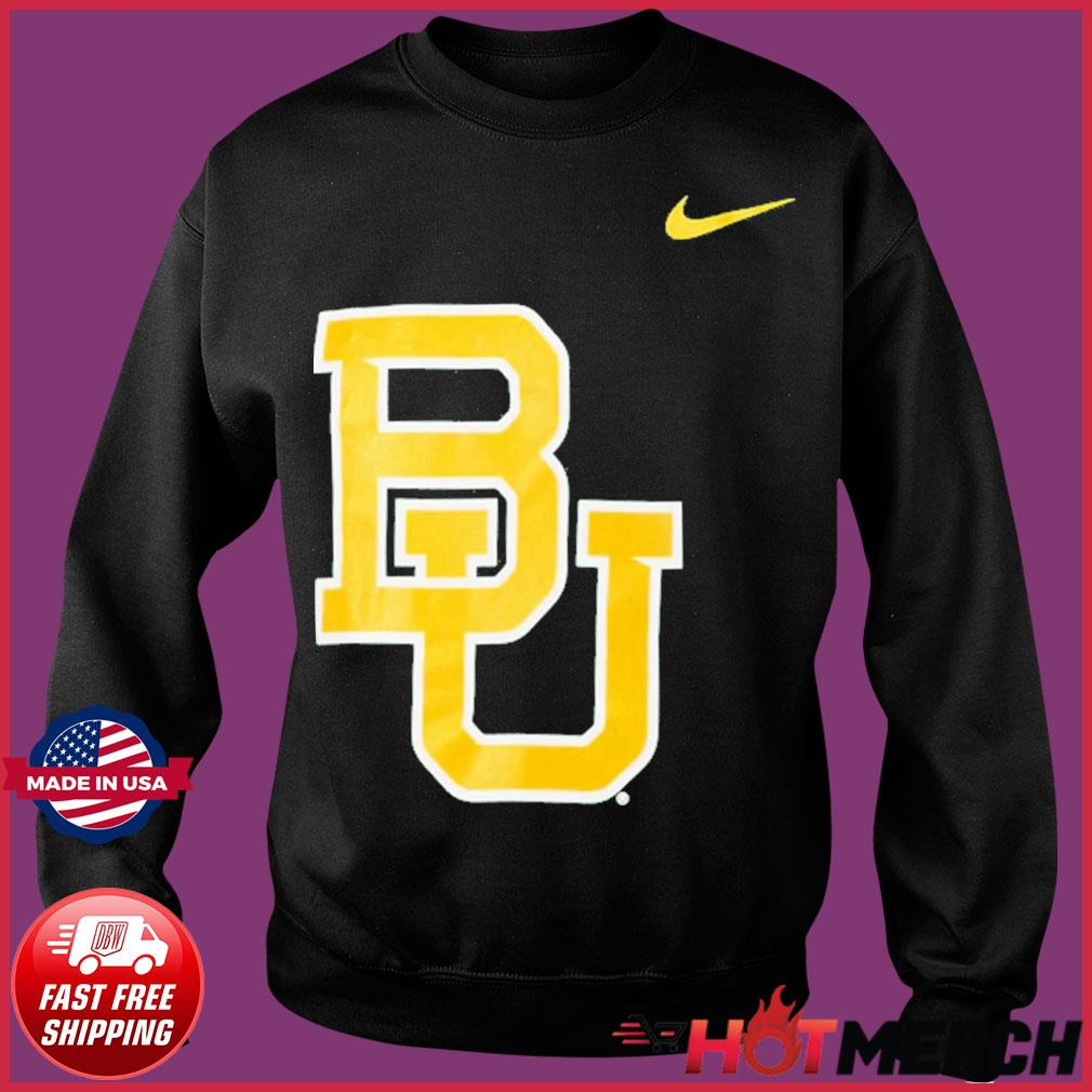 Nike Baylor Bears Logo Legend Performance T-Shirt Sweater
