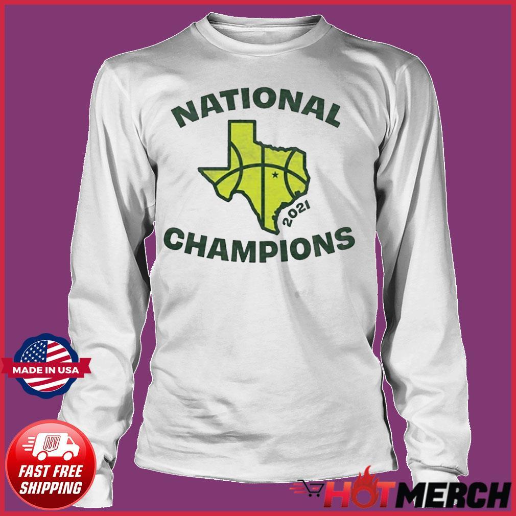 Texas Waco National Champions Tee Shirt Long sleeve