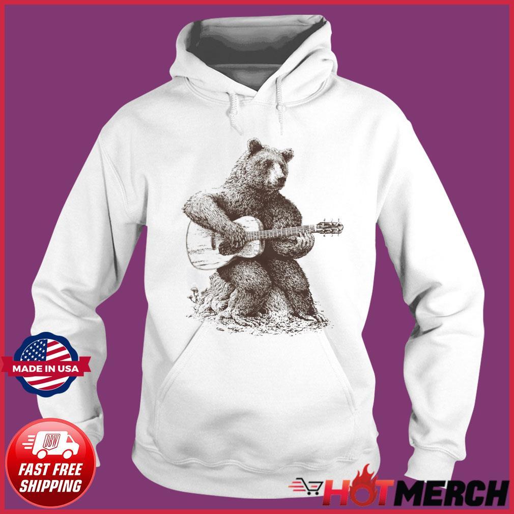 Bear Playing Guitar Classic T-Shirt Hoodie