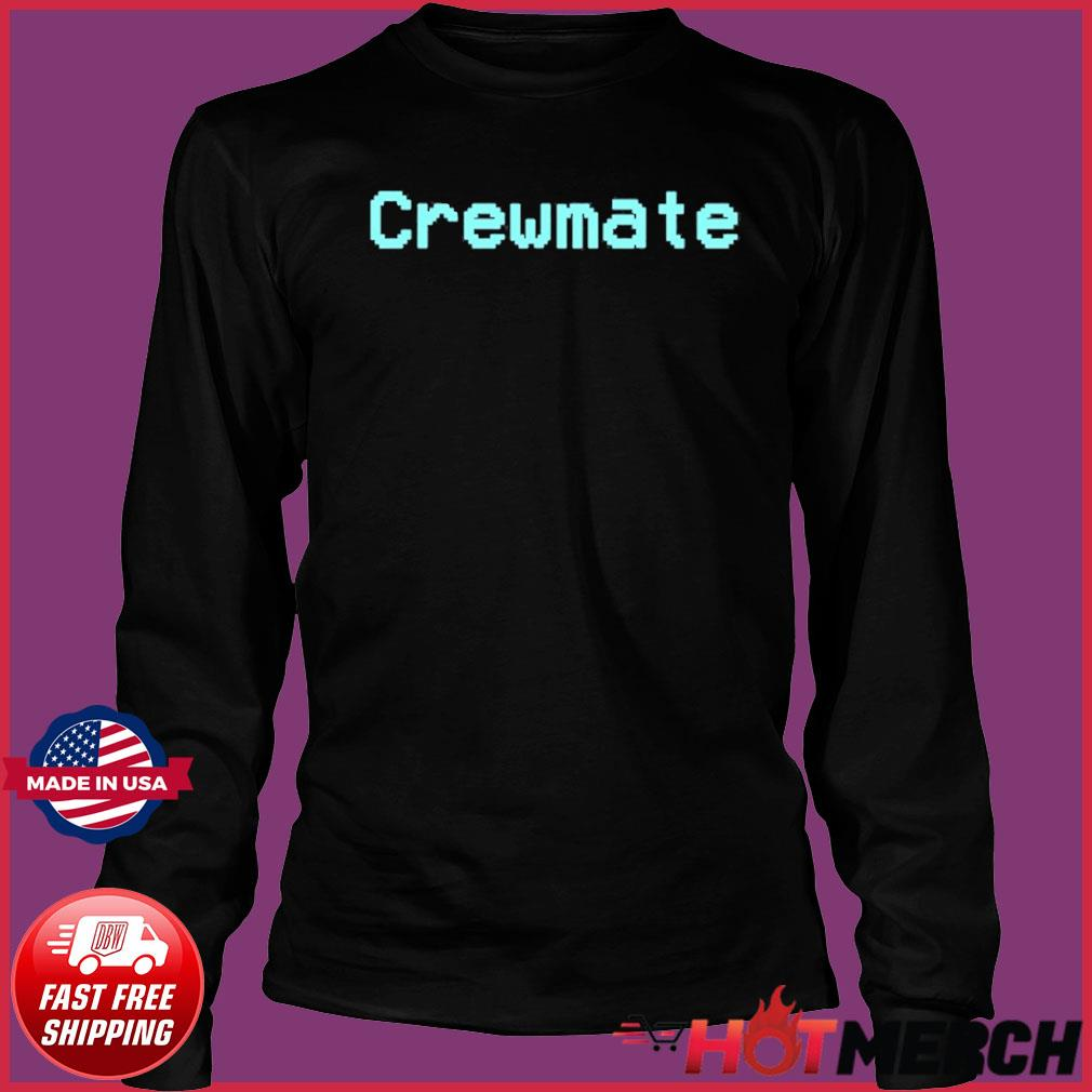 Among Us Crewmate Crew Mate Impostor Imposter Video Game Shirt Long Sleeve