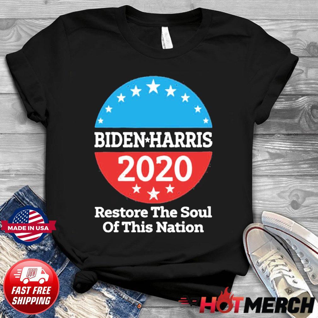 Biden Harris 2020 Vintage Restore The Soul Of This Nation shirt