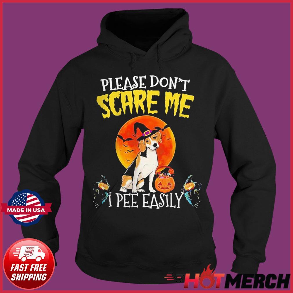 Harrier please don't scare me I pee easily Halloween s Hoodie