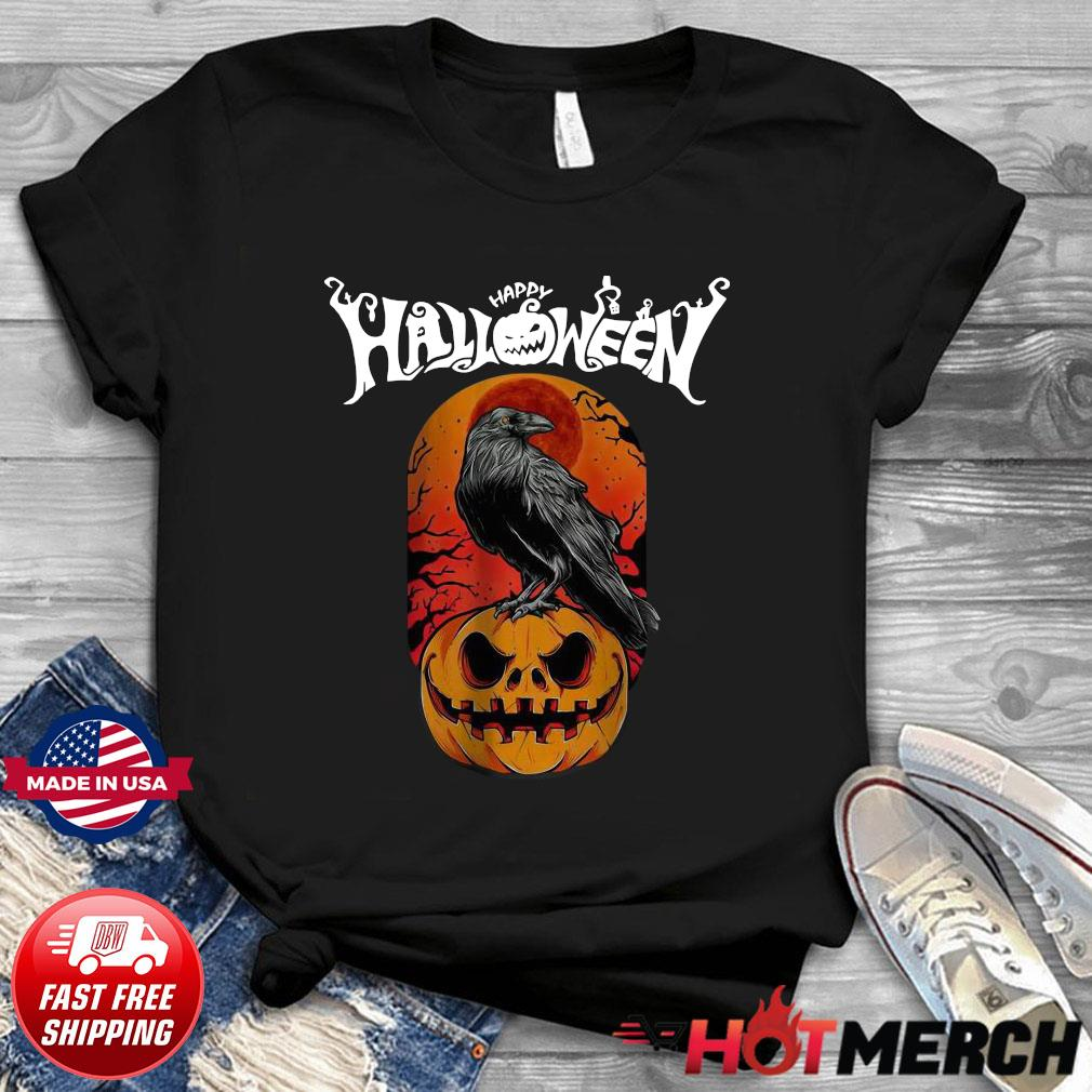 Raven happy Halloween shirt