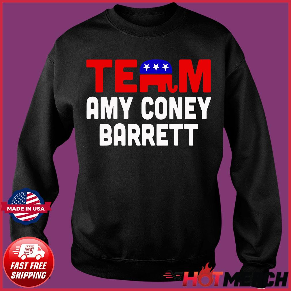Team Amy Coney For SCOTUS 2020 Amy Barrett Fill That Seat T-Shirt Sweater