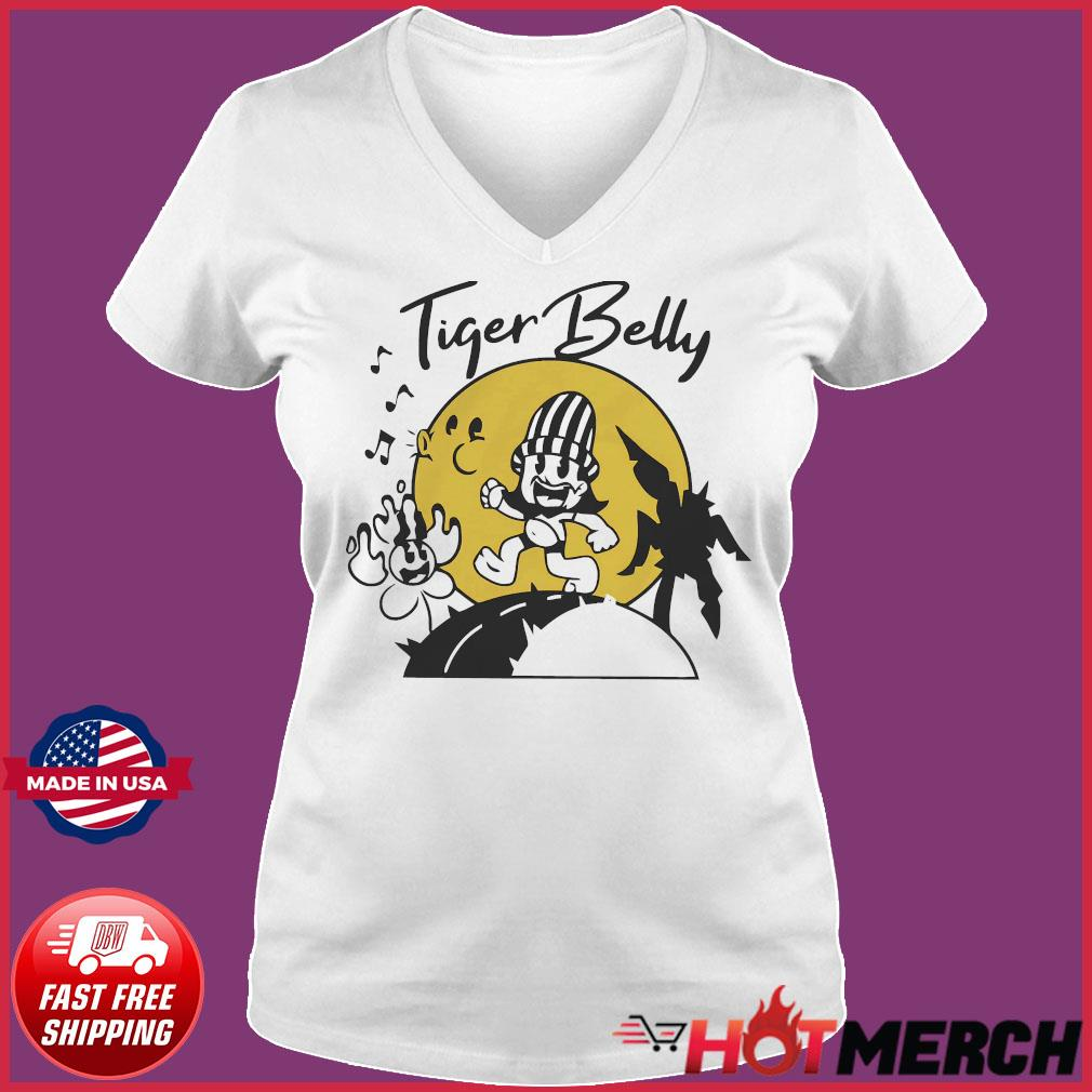 Tigerbelly Shirt Ladies V-neck Tee