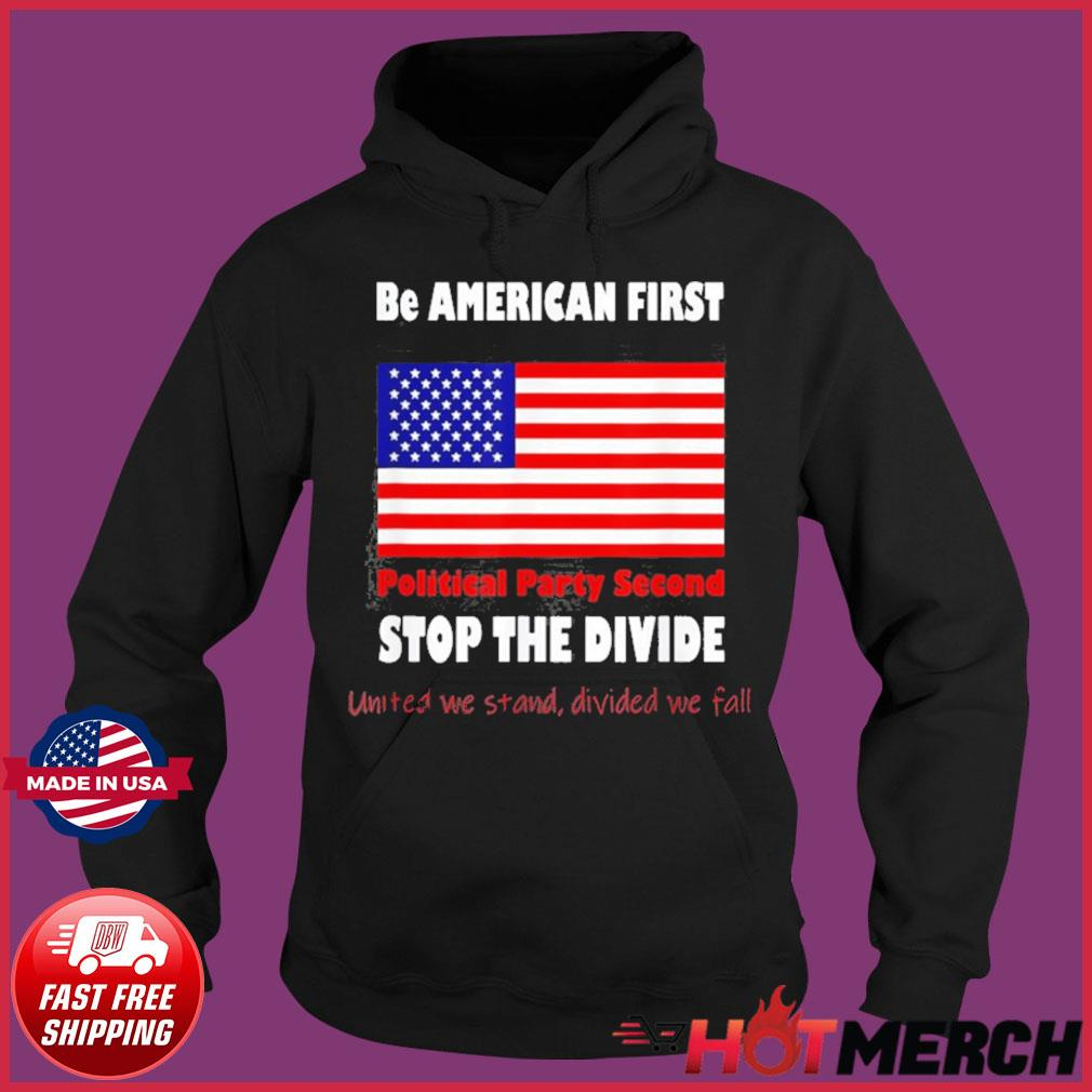 United We Stand Biden Trump we are all American Patriots Shirt Hoodie