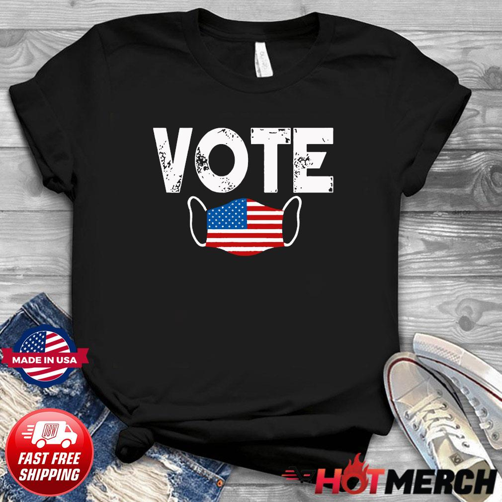 Vote Election Retro Vintage Anti Trump 2020 Election Shirt