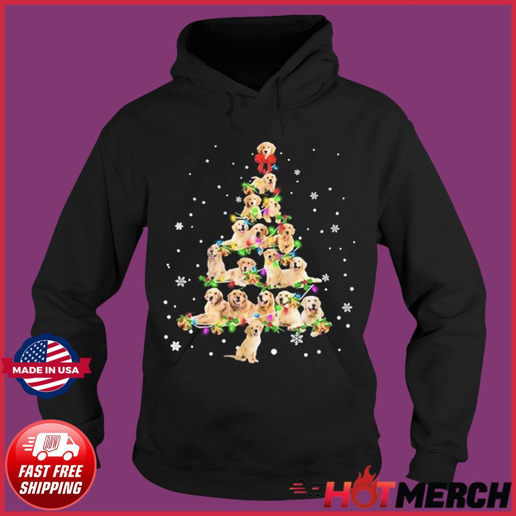 Bulldog Christmas Tree 2020 Sweats Hoodie