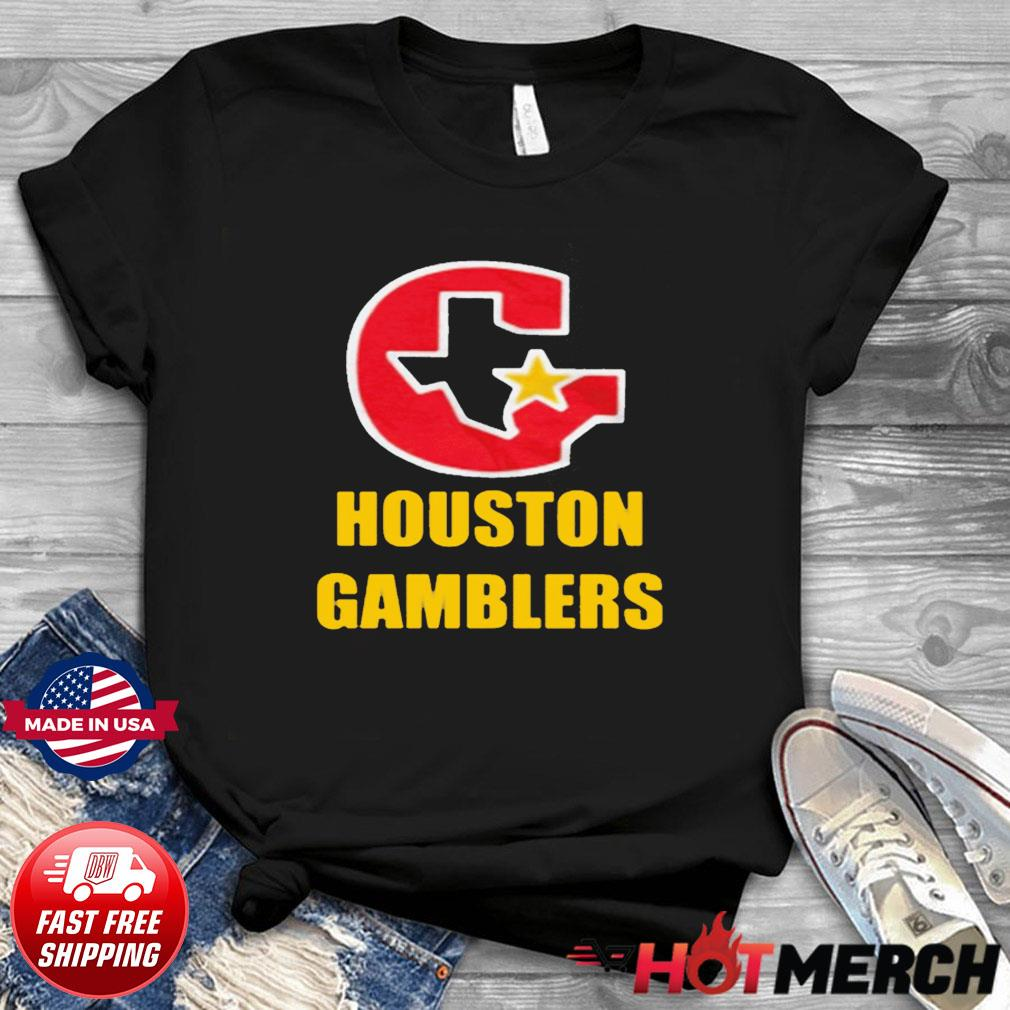 HOUSTON GAMBLERS T-SHIRT