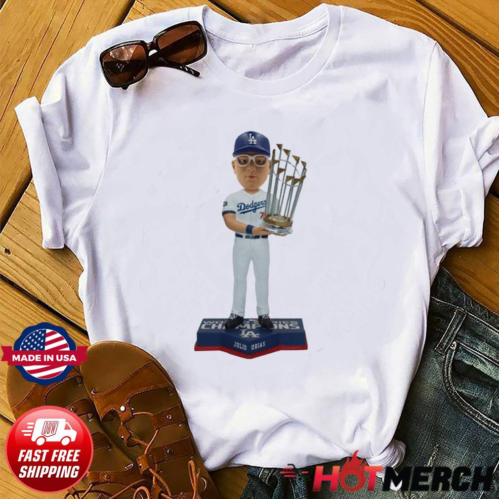 Juilo Urias Los Angeles Dodgers 2020 World Series Champions Shirt