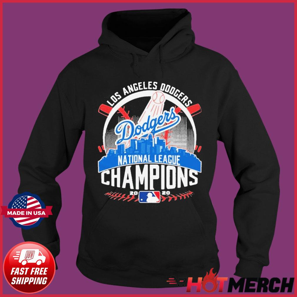 MLB Baseball Los Angeles Dodgers Dodgers National League Champions 2020 LA Dodgers championship Shirt Hoodie