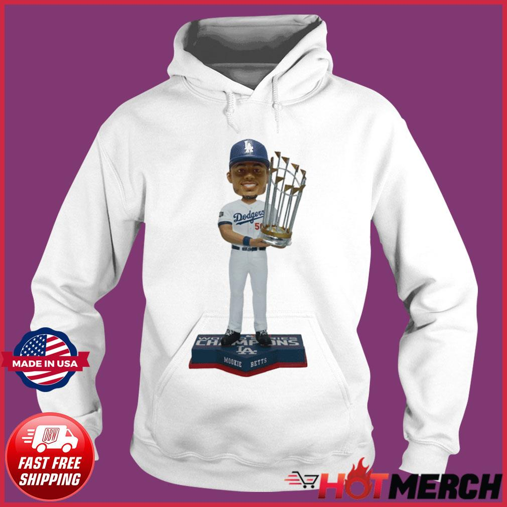 Mookie Betts Los Angeles Dodgers 2020 World Series Champions Shirt Hoodie