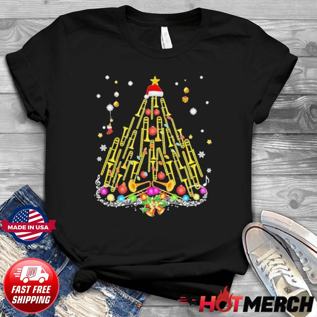 Trumpet Merry Christmas shirt
