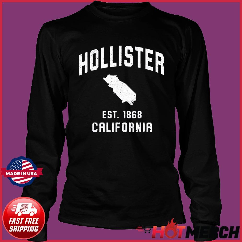 Vintage Hollister California EST 1868 Shirt Long Sleeve