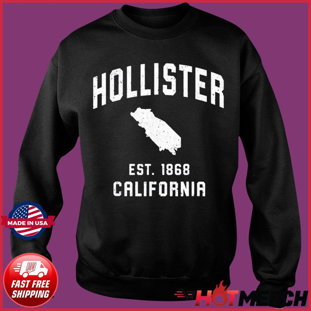 Vintage Hollister California EST 1868 Shirt Sweater