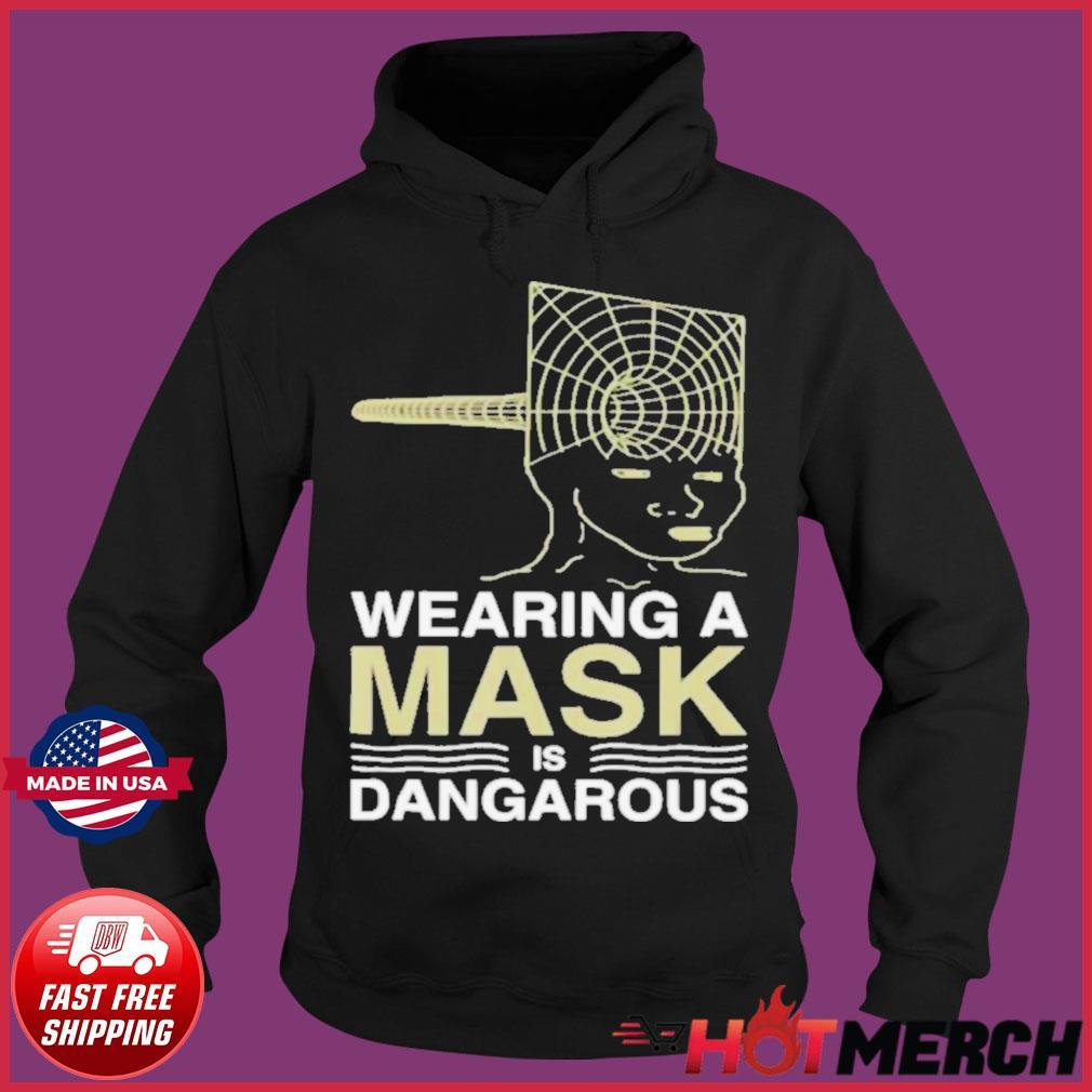 Wearing a mask meme trollface conspiracy theory s Hoodie