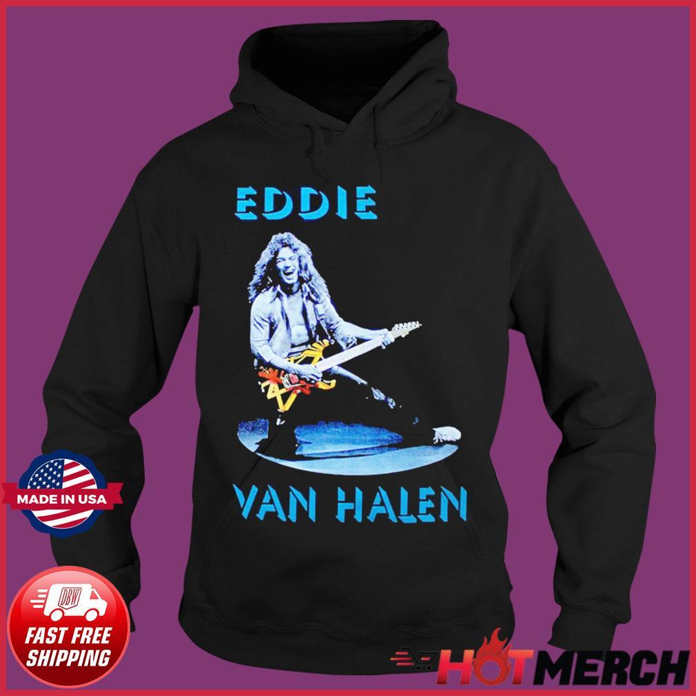 VAN HALEN METAL ROCK SWEATSHIRT HOODIE unisex grey JUMPER S-3XL