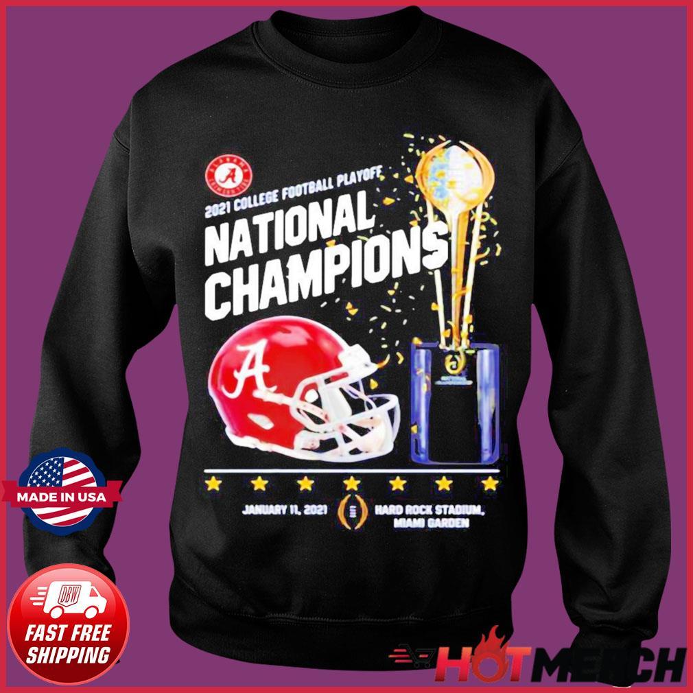 Alabama Crimson Tide 2021 College Football Playoff National Champions Alabama 52 Ohio State 24 Shirt Sweater