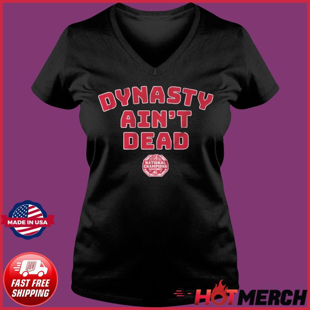Alabama Football Dynasty Aint Dead Shirt Ladies V-neck Tee