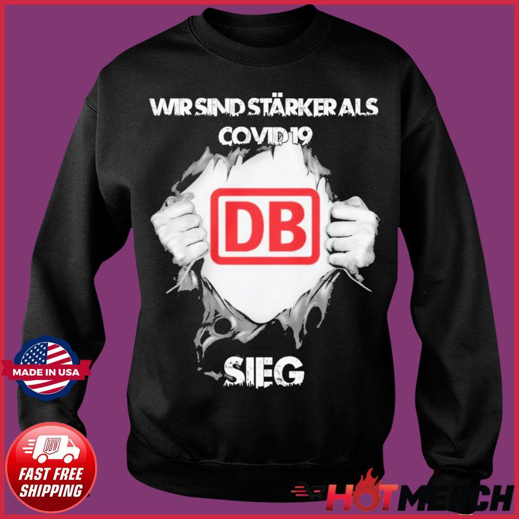 Blood Inside Me Db Wir Sind Starker Als Sieg Shirt Sweater