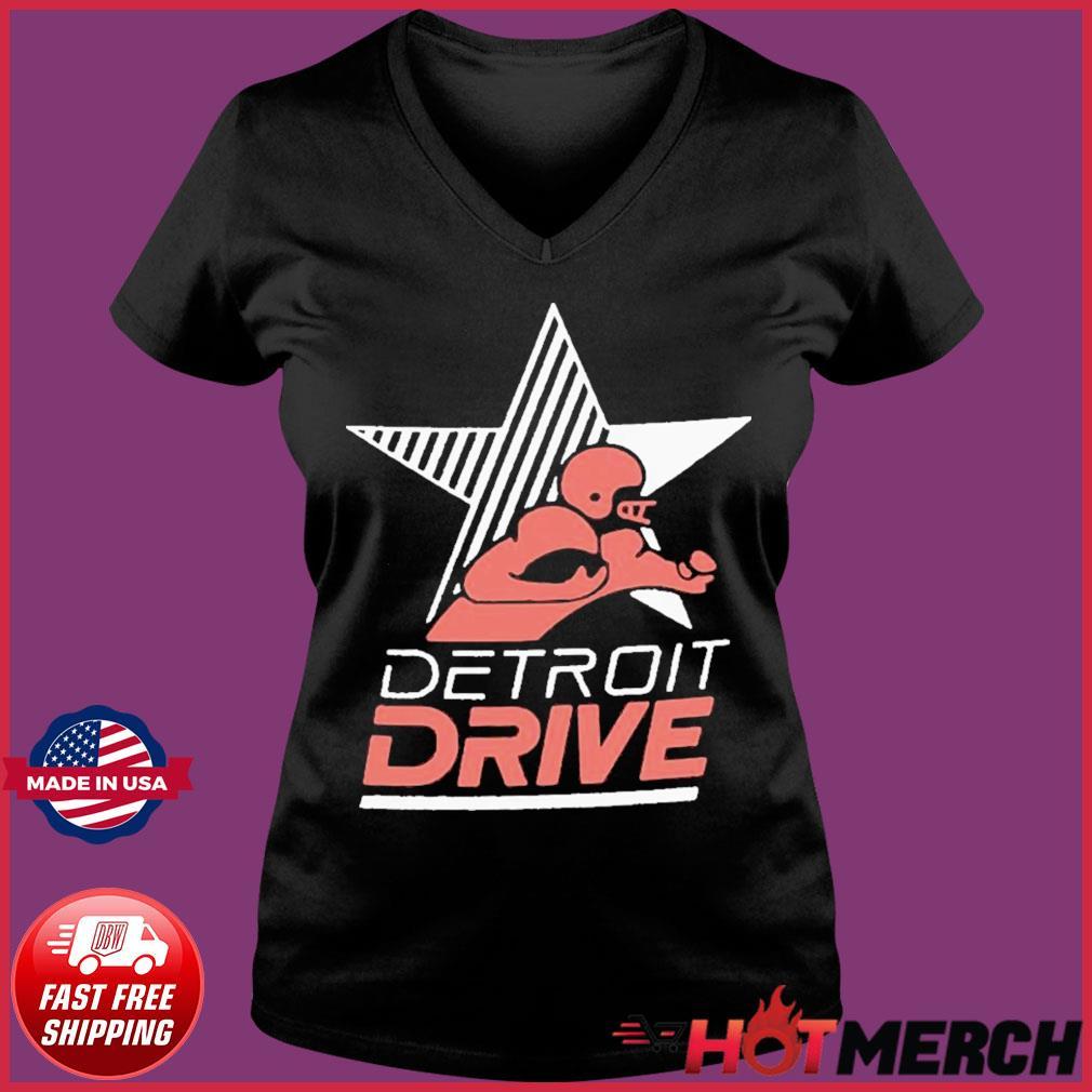 Detroit Drive Shirt Ladies V-neck Tee