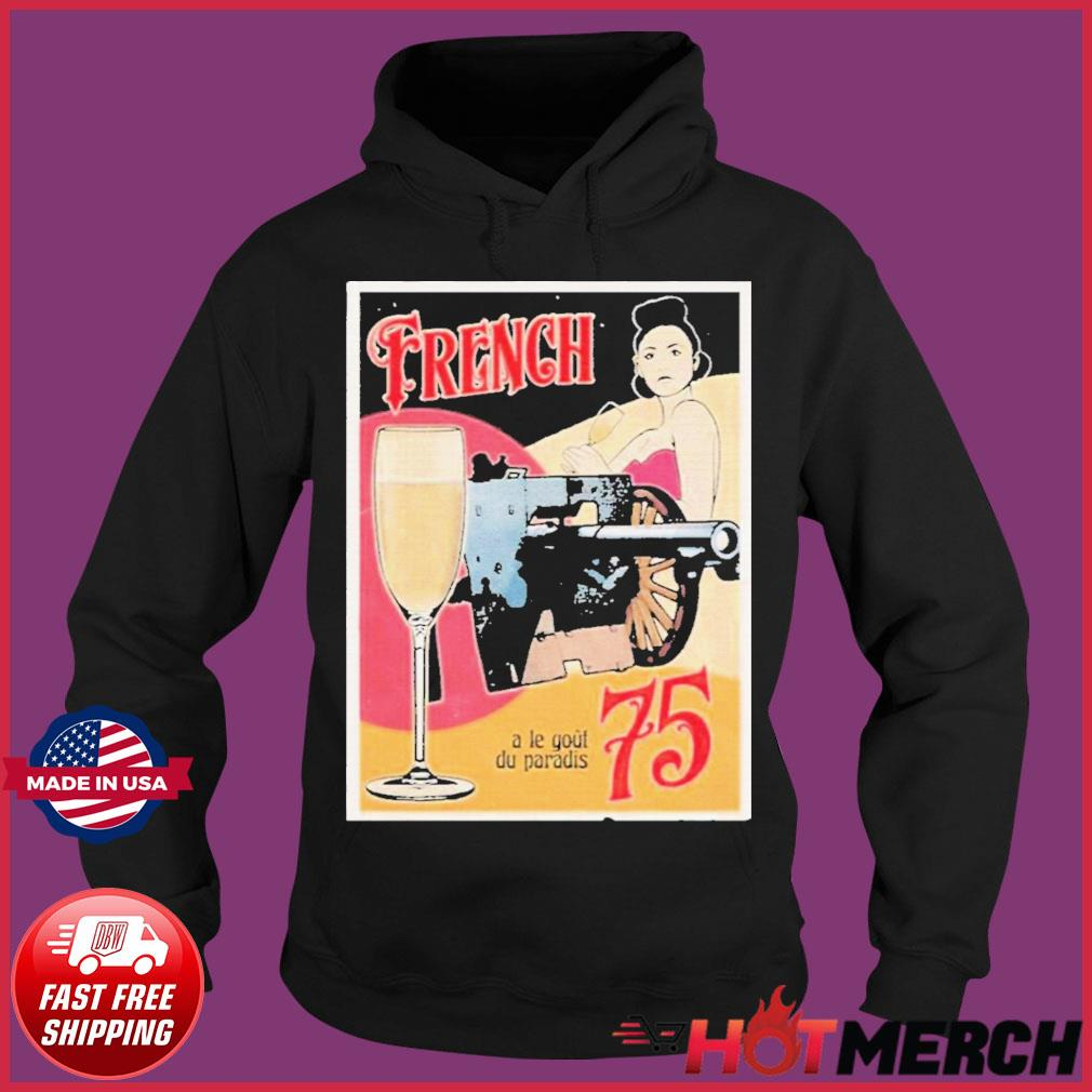 Forgotten Weapons French 75 Shirt Hoodie