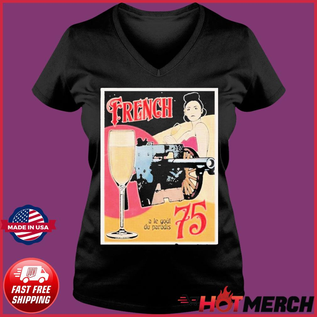 Forgotten Weapons French 75 Shirt Ladies V-neck Tee