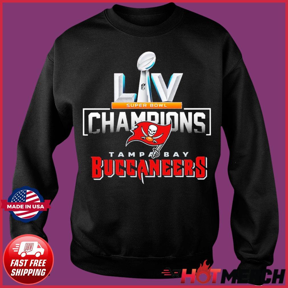 Tampa Bay Bad Boys for LV Tshirt Tampa Bay Buccaneers LV Super Bowl Champions T Shirt